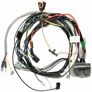 1973 Corvette Wiring Harness  454 Engine  Manual