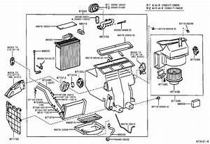 Toyota Camry Ac Parts Diagram  Toyota  Auto Parts Catalog And Diagram