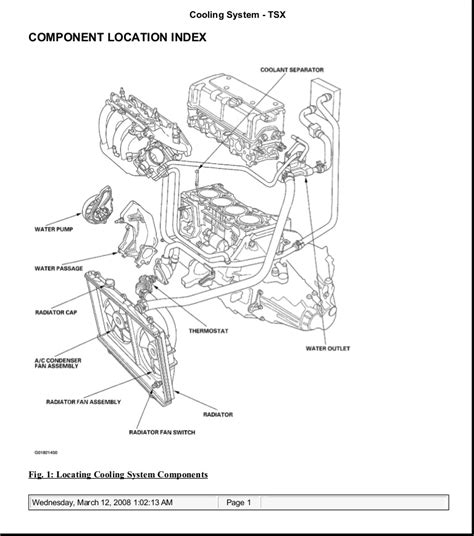 Flow Acura Service by 2006 Acura Tsx Service Repair Manual