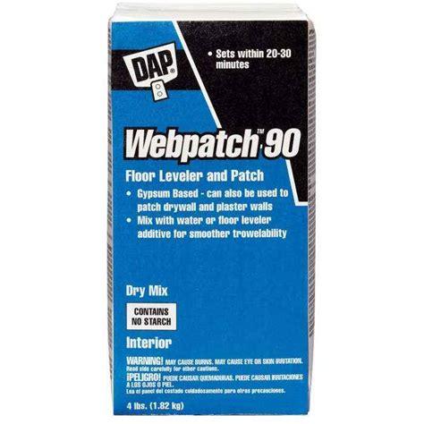 Dap Gallon Floor Patch And Leveler by Dap 10314 Webpatch Floor Leveler 4lb At Sutherlands