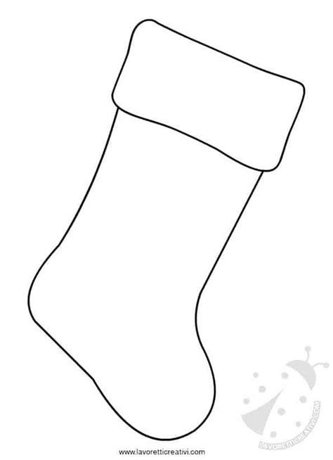cartamodelli calze della befana da stampare lavoretti