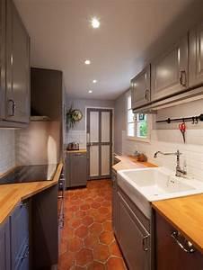 Davausnet cuisine avec tomette rouge avec des idees for Idee deco cuisine avec deco cuisine rouge