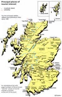 Scotland Tourist Map