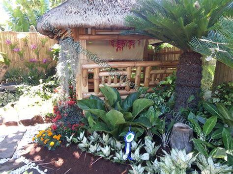 garden design  bahay kubo philippine nipa hut bahay kubo garden design garden garden