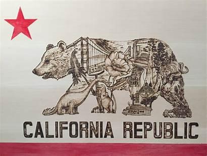 California Republic Flag Wallpapers Cali Pc Backgrounds