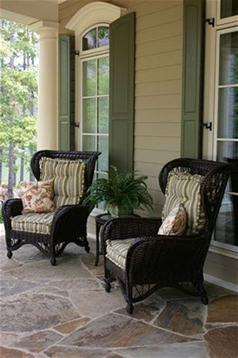 cushioned wicker for porch home ideas