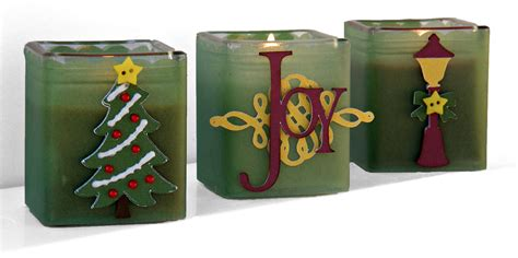 christmas votive candle holders pazzles craft room
