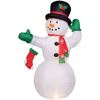 snowman blowups snowman inflatables  yard decorations