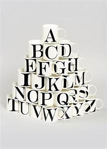 pick of the week alphabet mug thrifty home With mug lettering