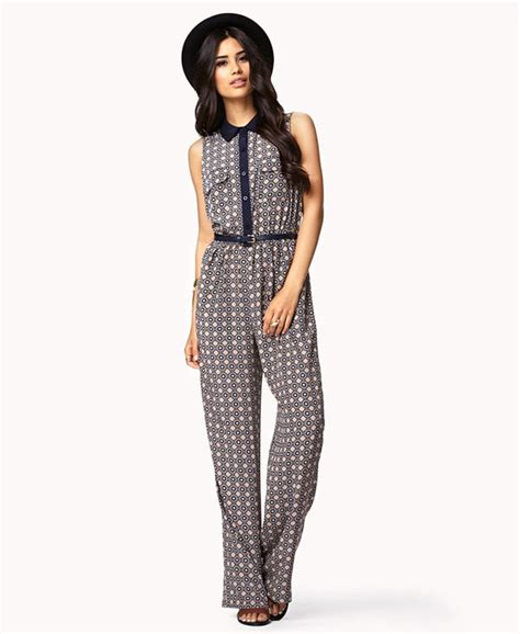 printed jumpsuits ornate printed jumpsuit 7 chic jumpsuits to rock this