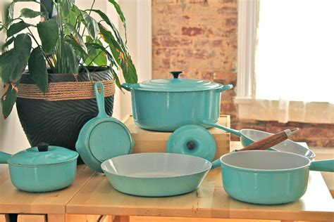 creuset le paris cookware flickr teal kitchen pro colors lecreuset galleries pans