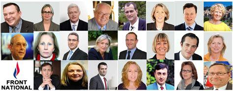 bureau front national européennes qui sont les députés du front national