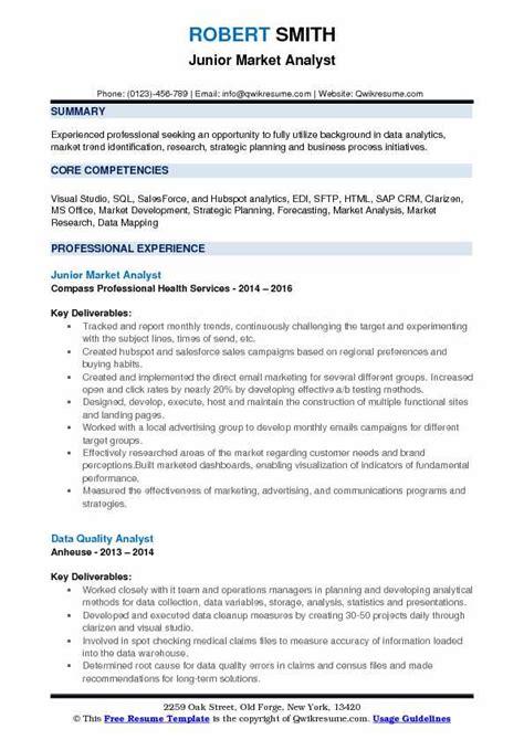 Marketing Analyst Resume Sle by Resume Analyzer Resume Sle Business Analyst Business