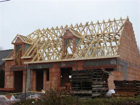 la charpente le de la construction de notre maison habitat concept