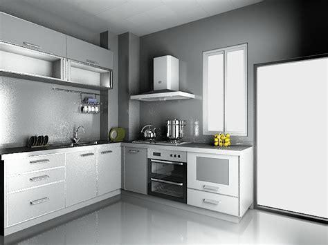 modern luxury kitchen design  model dsmax files