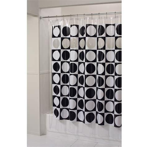 essential home shower curtain peek a boo vinyl
