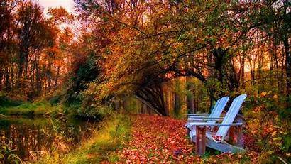 Wallpapers Desktop Peaceful Autumn Computer Hp Fall