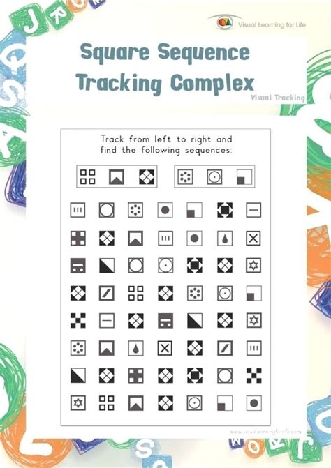 square sequence tracking complex individual file