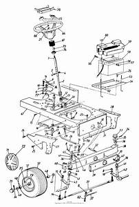 Mtd 144q848h062  1994  Parts Diagram For Steering Assembly