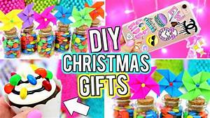 DIY CHRISTMAS GIFT IDEAS Easy LAST MINUTE DIY Christmas