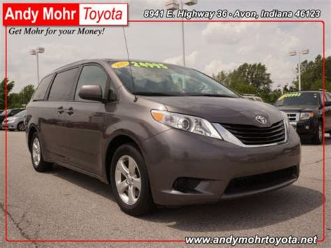 Find Used 2013 Toyota Sienna Le In 8941 E. Us Highway 36