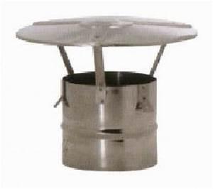 Tubage Inox Double Paroi 150 : tubage chemin e chapeau standard inox 150 mm lmf ~ Premium-room.com Idées de Décoration
