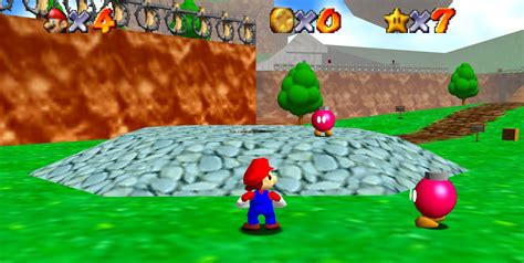 Super Mario 64 Has Been Hiding A Secret In The First Level