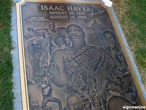 Memphis, TN - Isaac Hayes Grave