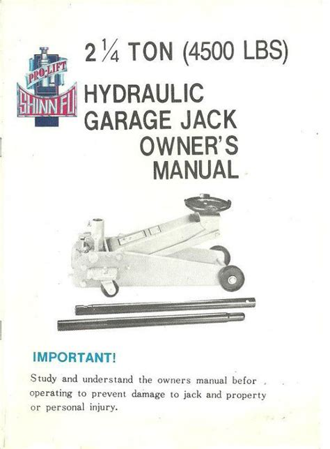 Pro Lift Floor Manual by 113 Best Images About Books And Magazines On