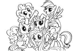My Little Pony Coloring Pages Friendship Is Magic Democraciaejustica