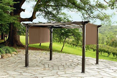 garden oasis  pergola  heavy duty posts outdoor living gazebos canopies pergolas