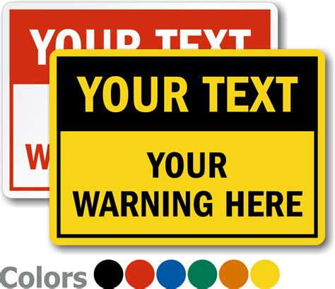 caution sign template custom industrial signs best prices free shipping