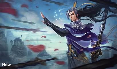 Yi Sword Screen Fiora Eternal Loading Splash