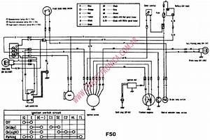 Diagrama Suzuki F50