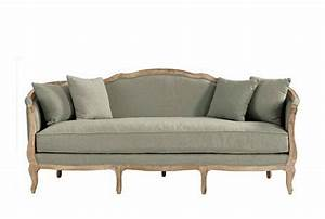 Country french style sofa hymns and verses for Ballard designs sectional sofa