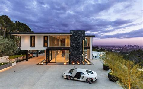 modern living room decorating ideas pictures sumptuous luxury modern home with views the la skyline