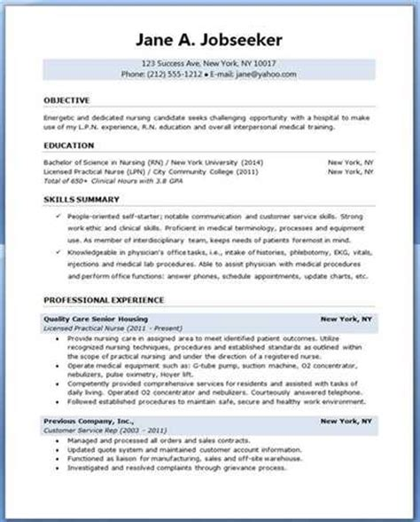 good luck   school nurse resume sample