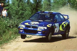 Subaru's first WRC rally car for sale by Prodrive