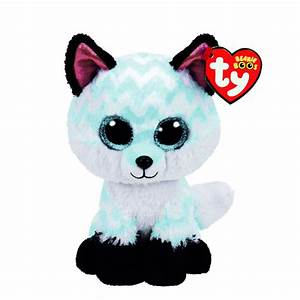 Petite peluche TY Beanie Boos Piper le renard | Claire's FR