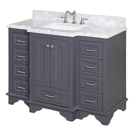 Kitchen Bath Collection Nantucket by Kbc Nantucket 48 Quot Single Bathroom Vanity Set Reviews