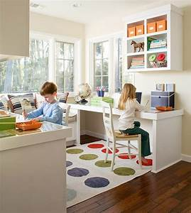 Cool and wonderful kids office room design ideas for Kids office ideas