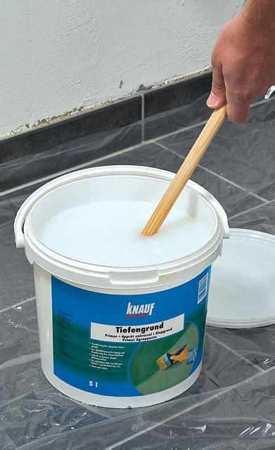 vinylboden untergrund vorbereiten putz ausbessern selbst de