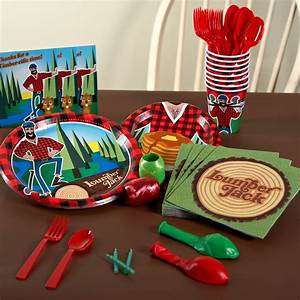 """47 best images about Birthday Party Ideas - """"Paul Bunyan ..."""