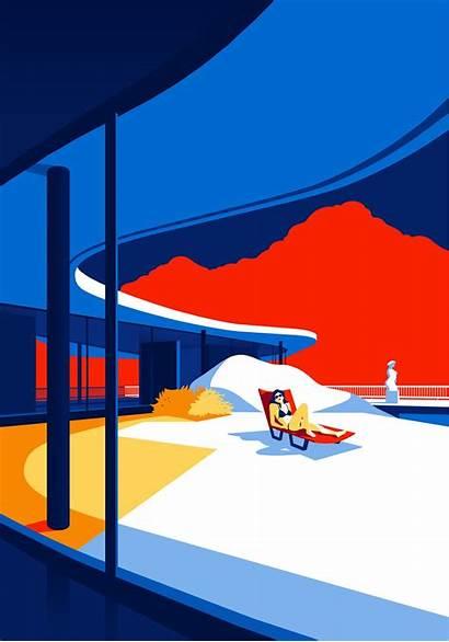 Niemeyer Oscar Illustrations Architecture Illustration Minimal Minimalist