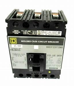 New Square D Fal36015 Circuit Breaker 15a 3 Pole  U2013 Sb