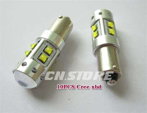 2pcs bay9s car white 50w cree xbd high power 120 176 offset