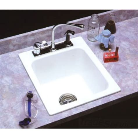 kitchen sink fittings mustee 11 17 quot x20 quot utility sink drop in small white 2709