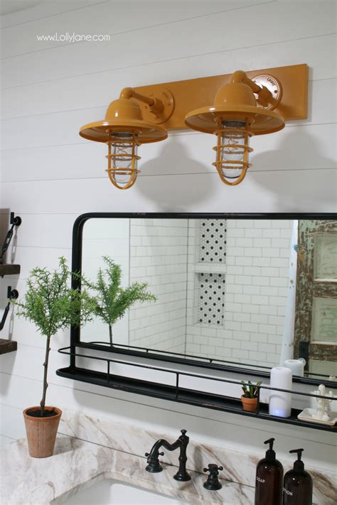 barn light electric farmhouse bathroom vanity lights