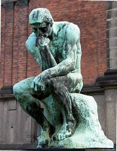 The Thinker, 1880 - 1882 - Auguste Rodin - WikiArt.org