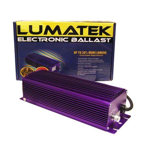 lumatek digital ballast 600w dimmable eclairage les